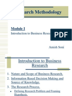 Research Methodology - Module I