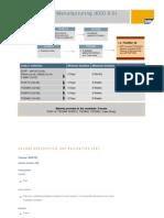 SCM- Planning&Manufacturing(ECC 6.0)