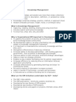 Guidance Notes on Knowledge Management