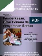 Modul PENYIDIK Pemberkasan Gelar Perkara n an Berkas 2010