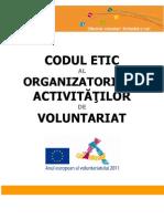 Codul Etic Al Organizatorilor Activitatilor de Voluntariat