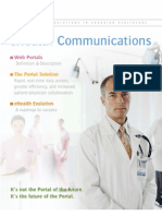 Portal Communications & The Promise Of e-Health