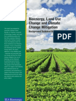 Bioenergy Land Use Change and Climate Change Mitigation - Background Technical Report
