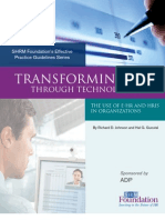 Transforming HR - Technology