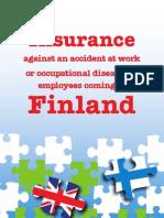 Esite Suomessa Tyoskentelevan Vakuuttaminen Englanti