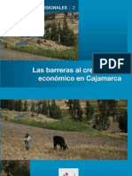 Las barreras al crecimiento económico en Cajamarca