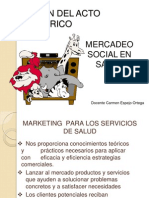 Mercadeo Social en Salud-2011 Para Blog