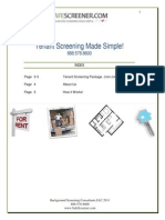 safescreener com tenant screener package 2011