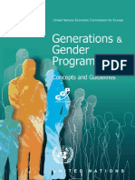 Generations and Gender Programme