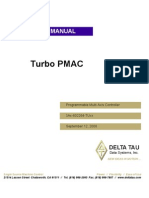 Turbo Pmac User Manual