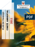 Plan de Trabajo del Comité Ambiental 2011