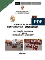 Plan Escolar de cia de IE 2011