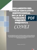 REGLAMENTO DEL CONEI IE Nº 43018 2011