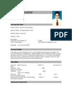 CV SALMAN SALEEM (1)