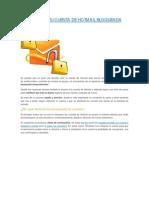 Recupera Tu Cuenta de Hotmail Bloqueada