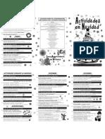 Programa de actividades en la Navidad Cultural de Briviesca 2.011 -2.012
