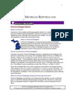 2012 Precinct Delegate Manual