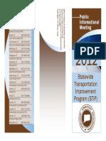 CT Statewide Transportation Improvement (STIP) 2012
