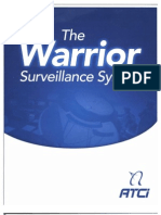 ATCI the Warrior Surveillance System