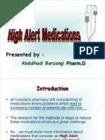 58902 Hi Alert Medication Shh High 2
