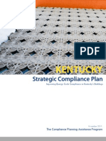 Kentucky Strategic Compliance Plan