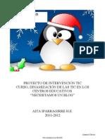 PROYECTO DE INTERVENCIÓN TIC