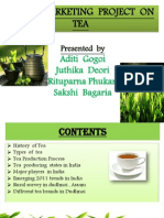 Rural Marketing Project on Tea