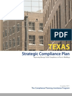 Texas Strategic Compliance Plan
