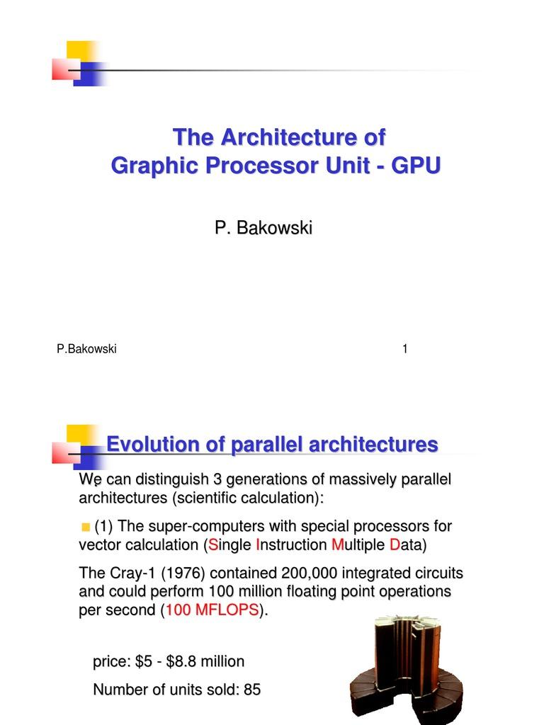 GPU Introduction   Graphics Processing Unit   Central Processing Unit