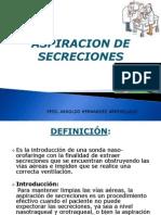ASPIRACION DE SECRECIONES