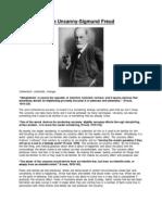 Uncanny Sigmund Freud Research