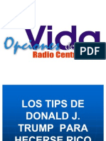 Tips Donald Trump