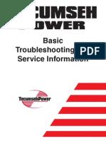 Snow Blower Service Info