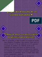 Etapas Del Desarrollo de Un Sistema Multimedia