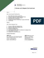 Student Activities Guidebook