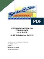 CÓDIGO DE DEFESA DO CONSUMIDOR capa