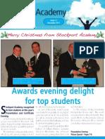 Academy Newsletter December 2011