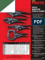 Proto Miniature Pliers & Clamps P20935