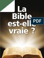 La Bible Est-Elle Vraie