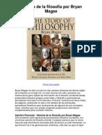 Historia de la filosofía por Bryan Magee - 5 estrellas reseña del libro