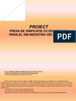 Prese de Vinificatie Proiect2003