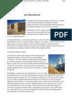 Floresta e Energias Renováveis