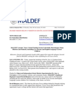 MALDEF Lawsuit Texas' School Funding System Unlawfully Short Changes Many Districts and Students Including Low Income and English Language Learner Children EnglishEspanol