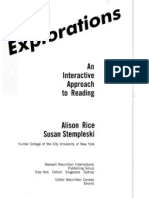 Explorations Reading