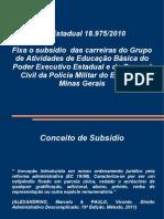Curso de Direito Administrativo - Disposições sobre os Servidores Públicos Civis de MG - Aula 05