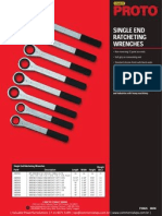 Proto Single end Ratcheting Wrenches P20625