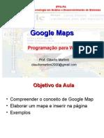 Aula - Criando Mapas no Google Maps