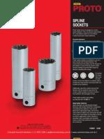 Proto Spline Sockets P20657