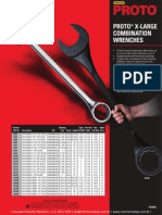Proto X-Large Combination Wrenches P20930