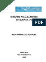 Relatorio avaliação PSF
